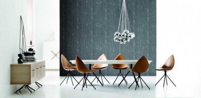 Modern Dining Table and Chairs Furniture Set by karim-rashid