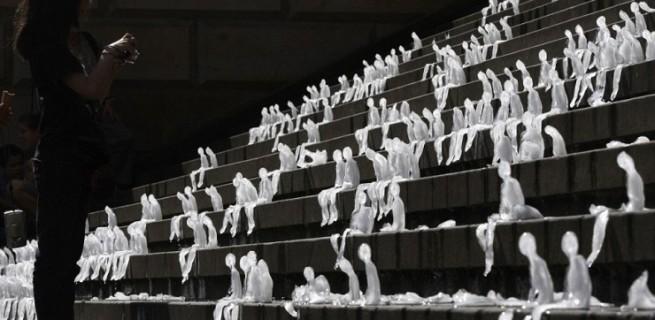 esculturas de gelo de nele azevedo