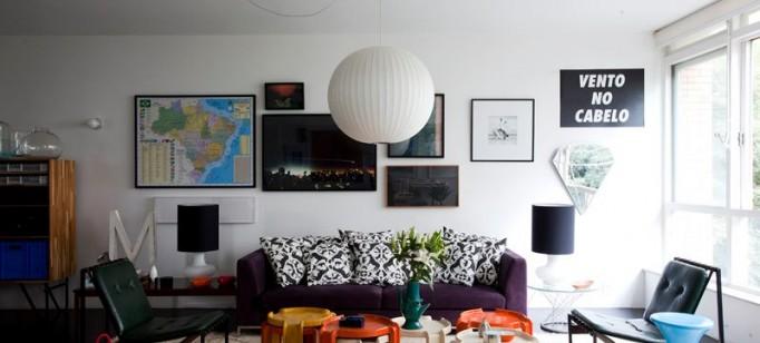 mauricio - arruda - apartamento antonio carlos - sao paulo-2  DECORAÇÃO: O lar de Maurício Arruda em São Paulo mauricio arruda apartamento antonio carlos sao paulo 21 682x308