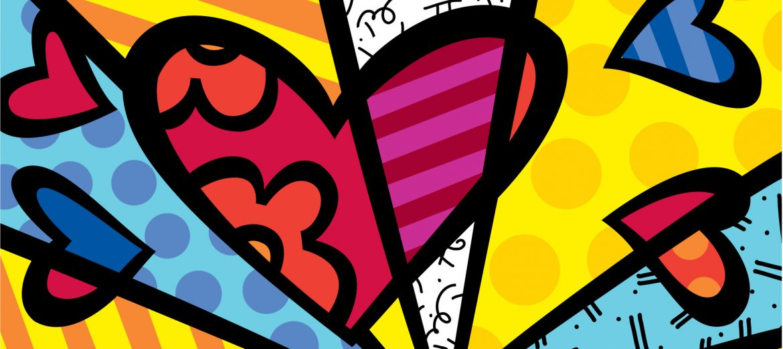 romero-britto arte contemporânea brasileira Arte Contemporânea Brasileira Reconhecida Internacionalmente romero britto1