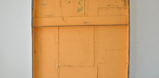 Construção Pictórica #6, 2012, Carlos Bunga, da galeria A Gentil Carioca