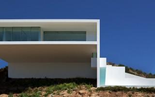 Fran Silvestre Arquitectos  Arquitectura – Deslumbrante Casa del Acantilado  Fran Silvestre Arquitectos1 320x200