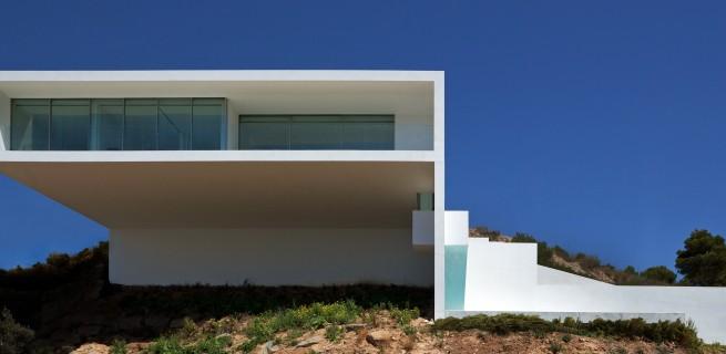 Fran Silvestre Arquitectos  Arquitectura – Deslumbrante Casa del Acantilado  Fran Silvestre Arquitectos1 655x320
