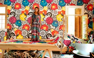 Adriana Barra lança tecidos para casa  Adriana Barra lança tecidos para casa Capausar 320x200