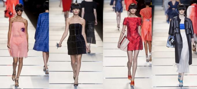 """Fendi e o estilo simples e chique.""  Moda: Milan Spring Fashion Week – Top 5 coleções! fendi 682x308"