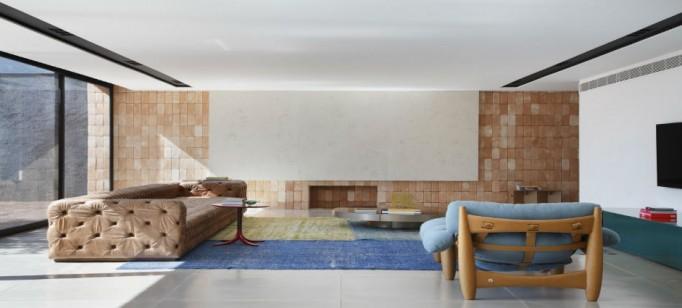 """""""BT House de Guilherme Torres.""""  Casa de Arquitecto: Guilherme Torres e sua simplicidade BTHouseGuilhermetorressala 682x308"""
