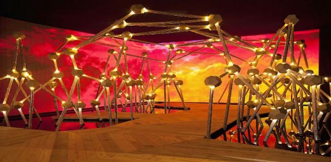 """""""Estrutura Manhue Groove, Miami Design 2013""""  Guilherme Torres colabora com Swarovski para Design Miami 2013 EstruturaMangueGroove 655x320"""