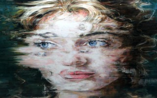 """Retrato de Kate Winslet por Harding Meyer""  Arte & Cultura:Harding Meyer, o pintor brasileiro retratista katewinsletportrait 320x200"