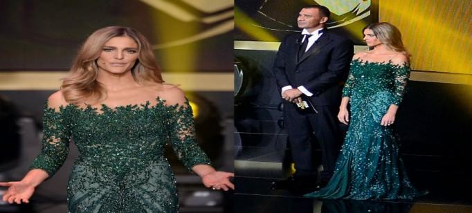 """Vestido de Fernanda Lima FIFA""  Estilista brasileiro Samuel Cirnansck veste Fernanda Lima bola de ouro vestido de fernanda lima4 682x308"
