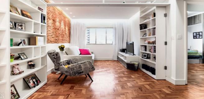 """""""decorar salas pequenas""""  Decoração: 5 salas de estar pequenas mas acolhedoras salaspequenas 655x320"""