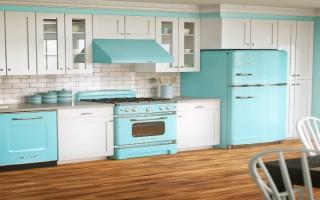"""""""Cozinha vintage""""  Decoração pra Casa: Top 10 Cozinhas de sonho cozinha vintage 320x200"""