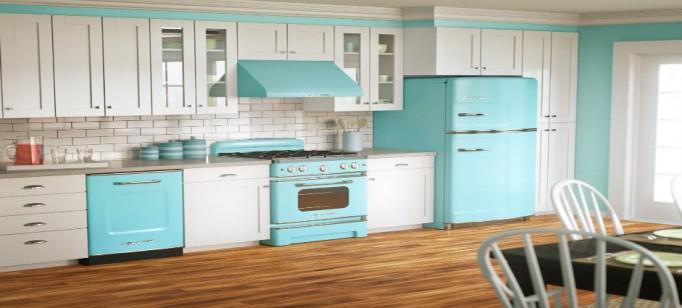 """""""Cozinha vintage""""  Decoração pra Casa: Top 10 Cozinhas de sonho cozinha vintage 682x308"""