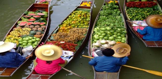 Lifestyle: 10 dicas sobre a Tailândia  Lifestyle: 10 dicas sobre a Tailândia mercadoflutante bangcoc 655x320