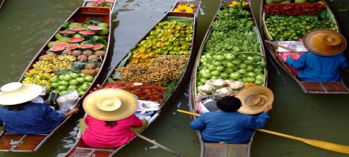 Lifestyle: 10 dicas sobre a Tailândia  Lifestyle: 10 dicas sobre a Tailândia mercadoflutante bangcoc 682x308