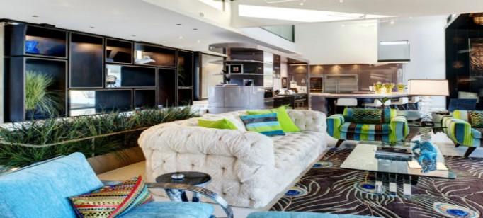"""""""sala inspiração de Carnaval""""  Top salas com decoração inspirada no Carnaval salainspiradanoCarnaval 682x308"""