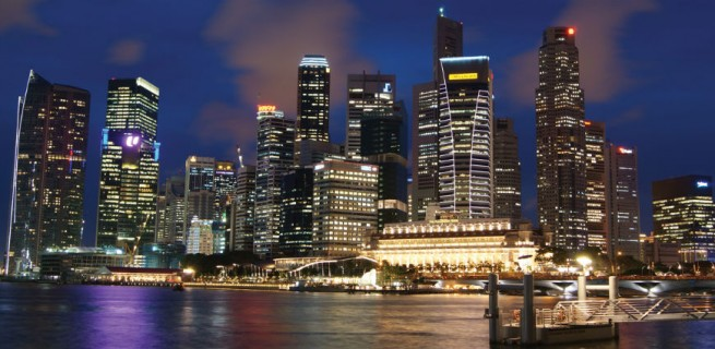 """""""Cingapura à noite""""  Cingapura: o lado exótico do Design  Singaporebynight 655x320"""