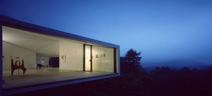 """""""Makoto Yamaguchi e sua galeria nas florestas""""  Makoto Yamaguchi : Criatividade vinda do Oriente makoto yamaguchi gallery karuizawa4 682x308"""