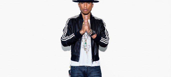 Moda: Pharrell Williams se associa à Adidas  Moda: Pharrell Williams se associa à Adidas pharrell williams adidas 682x308