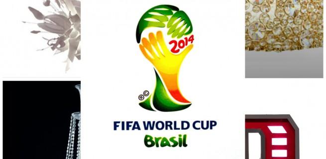 """""""Copa do Mundo e luminárias""""  Copa do Mundo: uma luminária para cada equipe copa 655x320"""