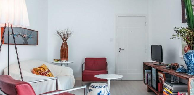 """""""Apartamento de arquiteto""""  O apartamento artístico do arquiteto Maurício Pinto  02 reforma da tao certo que arquiteto vira morador de ape em salvador 655x320"""
