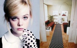 """""""Decoração e moda: como seguir as tendências""""  Decoração & Moda: como decorar seguindo as tendências  polka dot interiors 320x200"""