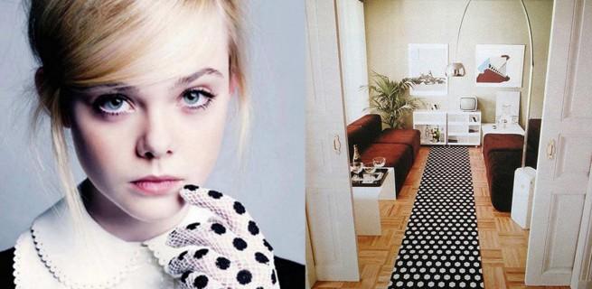 """""""Decoração e moda: como seguir as tendências""""  Decoração & Moda: como decorar seguindo as tendências  polka dot interiors 655x320"""