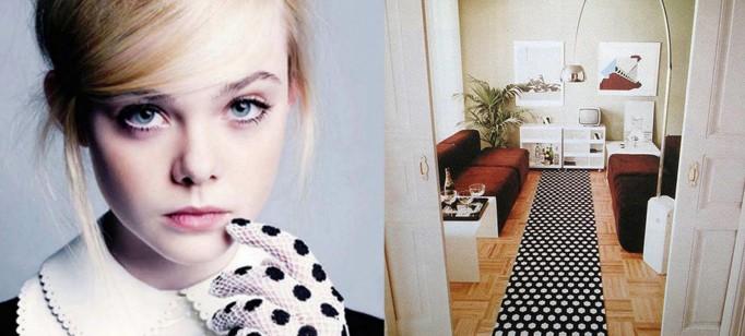 """""""Decoração e moda: como seguir as tendências""""  Decoração & Moda: como decorar seguindo as tendências  polka dot interiors 682x308"""